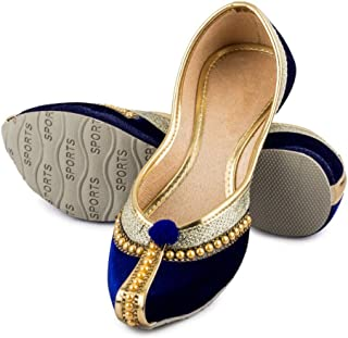 f195510c6ff3c Amazon.in: Velvet - Ethnic Footwear / Women's Shoes: Shoes & Handbags