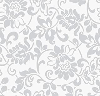 Klebefolie Möbelfolie Fleur bunte Blumen 45 cm x 200 cm Dekorfolie Bastelfolien