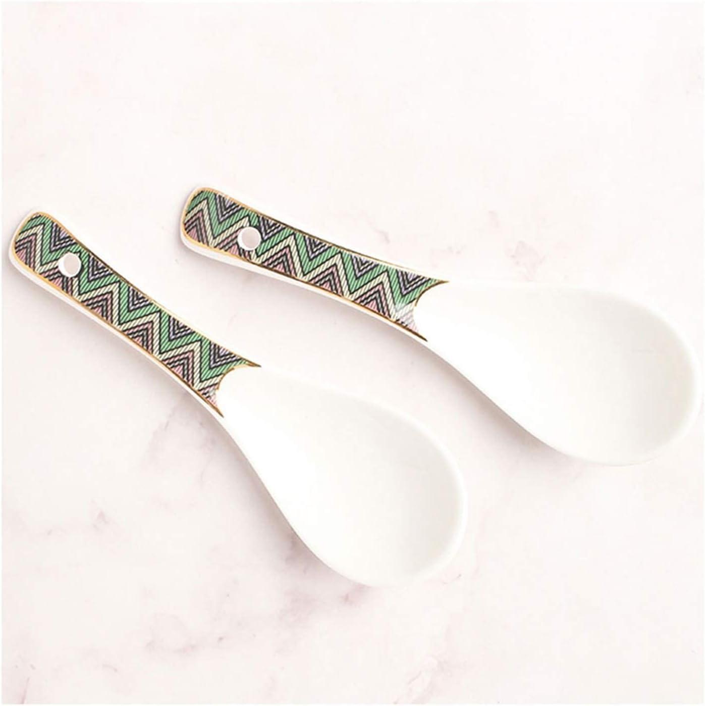 Kitchen Ladles Soup Sacramento Max 88% OFF Mall Ladle Spoons Spoon Ceramic Set Househol
