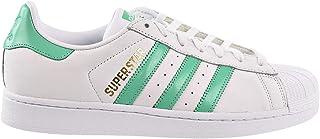 Superstar Men's Shoes Cloud White/Hi-Res Green/Gold Metallic b41995