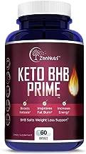 Premium Keto BHB Salts Exogenous Ketones Supplement, Jumpstart Ketosis Weight Loss Diet, Burn Fat for Energy, Improve Focus, 60 Count