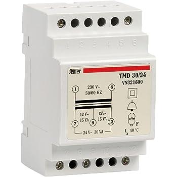 CFIEX Extel 616012/t12dc transformador 12/V
