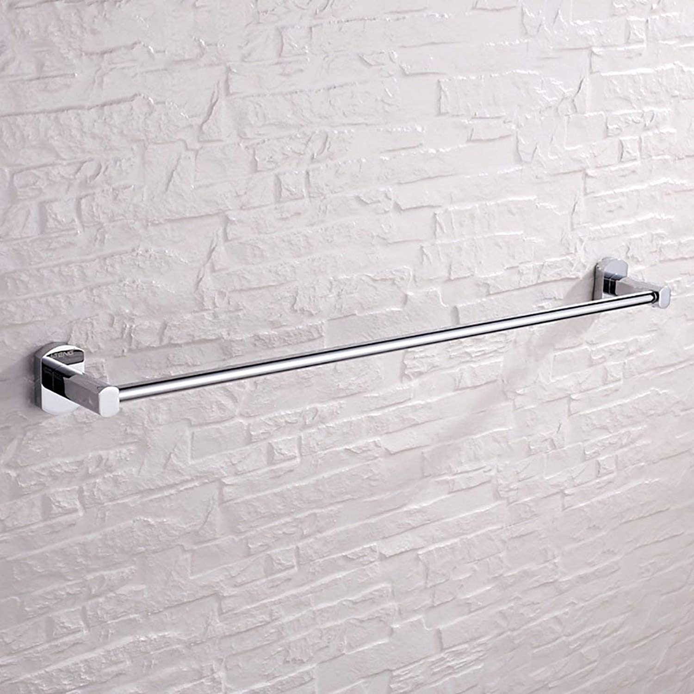 Towel Rack Towel bar Brass Wall-Mounted Towel Rack Bathroom Towel Shelf Stainless Steel Towel Rack Bathroom Towel Shelf