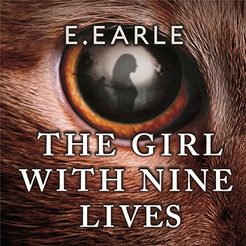 The Girl with Nine Lives audiobook cover art