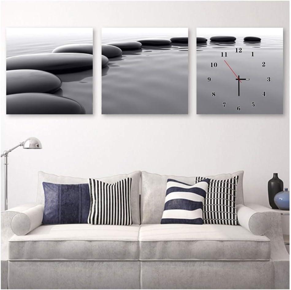 Wall Clock Cheap High-Gloss Reflective Bedroom Non-Ticking Mail order cheap Film Mute