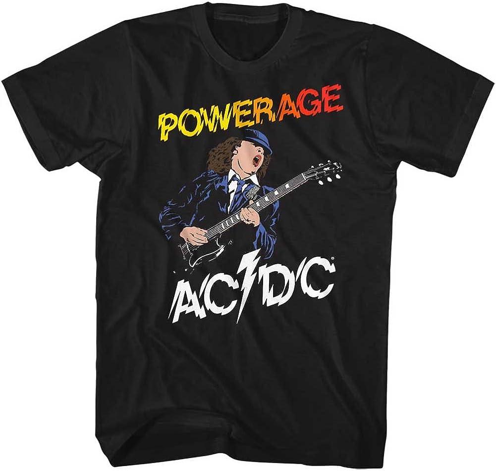 新品 日本全国 送料無料 送料無料 ACDC Music Powerage2 Adult Shirt T Short Sleeve
