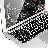 kwmobile Silikon Tastaturschutz QWERTY (Arabisch) kompatibel mit Apple MacBook Air 13''/ Pro Retina 13''/ 15'' (bis Mitte 2016) Schwarz