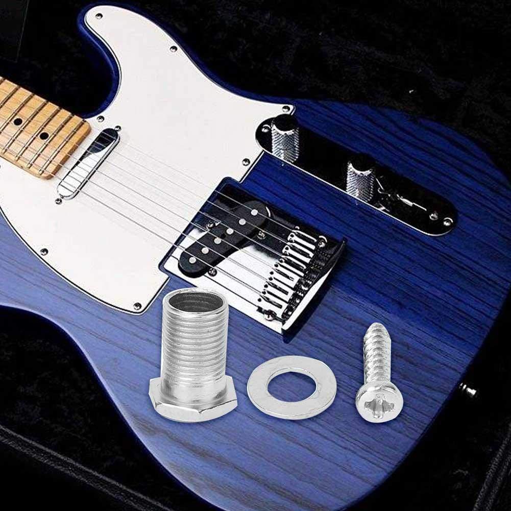 Kit de montaje de guitarra, tornillos, 10 juegos de bujes de rosca ...