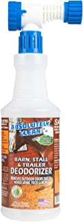 Absolutely Clean Barn, Stall, or Horse Trailer Deodorizer, Natural-Based Cleaner Spray