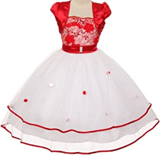 taffeta dress with beaded embroidery