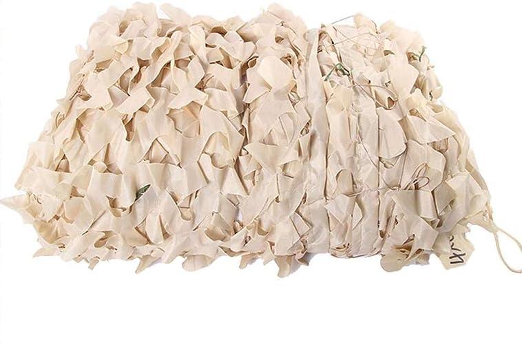 QING MEI Prougeection Contre Le Soleil Filet De Prougeection Contre Le Soleil Extérieur Jungle Camouflage Blanc Filet Anti-aérien Camouflage Filet De Prougeection Pliable Poussière Camouflage Fleur Oxford T