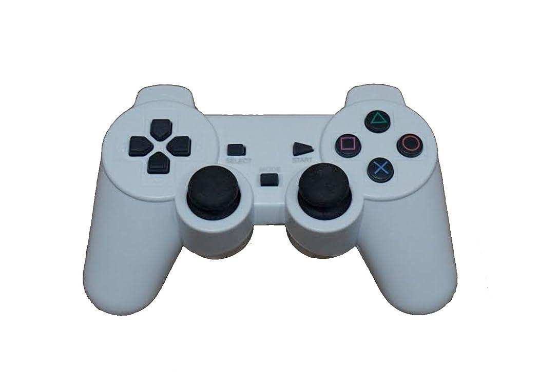 幽霊うっかり流出SHAPPYNES(シャピネス) 3way ワイヤレスコントローラー PS3 PC android アンドロイド スマホ 2.4ghz 無線 コントローラー ワイヤレス 白 SHP-005