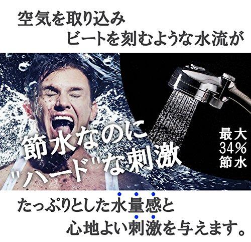 takagi(タカギ)『メタリックエアビートシャワピタ(JSB025BM)』