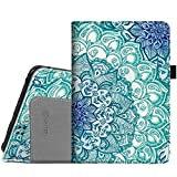 Fintie Folio Case for Kindle Fire HD 7' (2012 Old Model) - Slim Fit PU Leather Cover with Auto Sleep/Wake Feature (will only fit Amazon Kindle Fire HD 7, Previous Generation - 2nd), Emerald Illusions