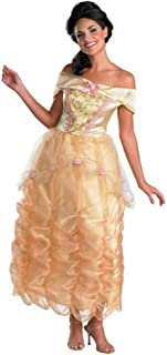 Disguise Women's Disney Beauty and the Beast Belle Deluxe Costume