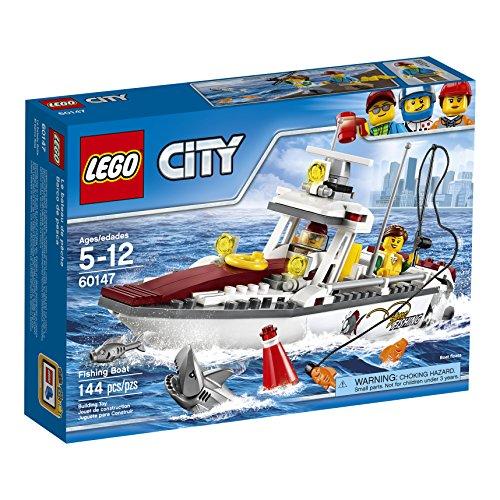 LEGO Stad fantastiska fordon fiskebåt 60147 byggsats