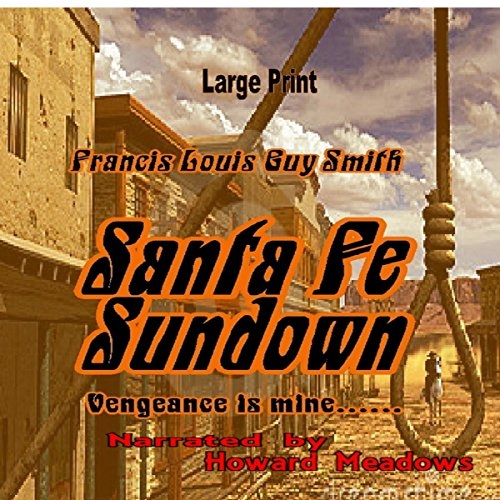 Santa Fe Sundown audiobook cover art
