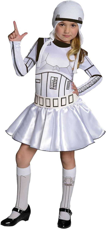 Rubies Costume Star Wars Storm Trooper Costume Dress, Large