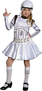 Star Wars Storm Trooper Costume Dress, Large