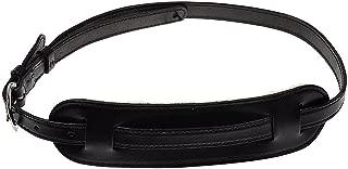 El Dorado Vintage Plain 1 Inch Small Leather Strap Black