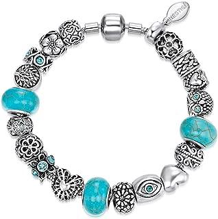 Mestige MSCB3053 Rhodium Plated Companionship Bracelet for Women