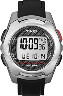 Timex Timex Health Touch HRM Watch - Silver/Black/Red