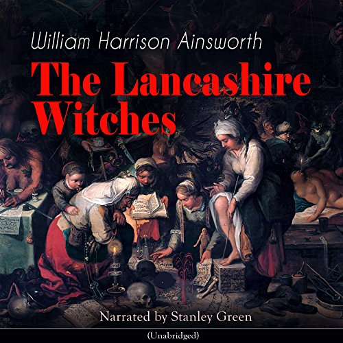 The Lancashire Witches audiobook cover art