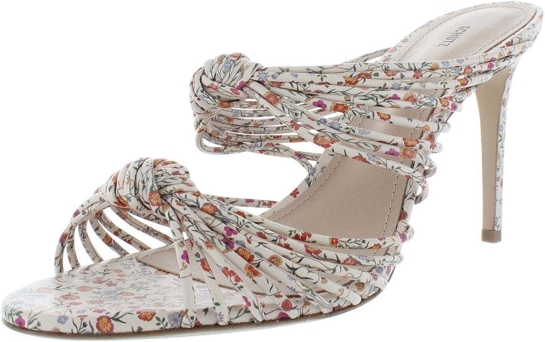 Schutz Womens Chandra Leather Strappy Dress Sandals