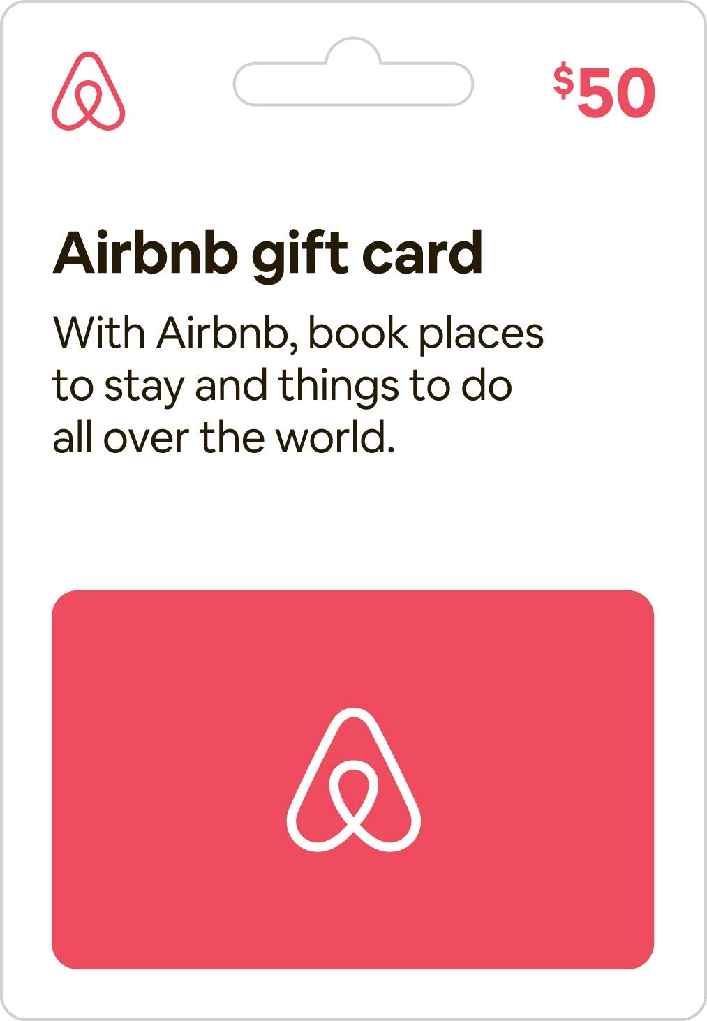 Airbnb Gift Card 50 Gift Cards