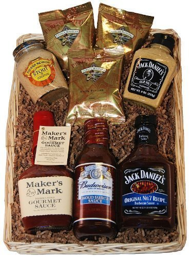 'Hit the Sauce' Gourmet Gift Basket for Thrilling Grilling