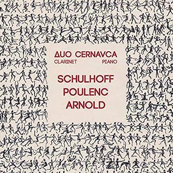 Schulhoff Poulenc Arnold