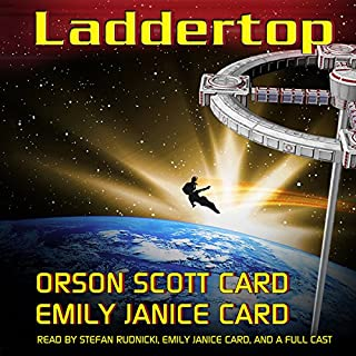 Laddertop audiobook cover art