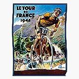 Races Cycles Bicycles De Paris Racing Tour France Bikes El póster de decoración de interiores más impresionante y elegante disponible en tendencia ahora