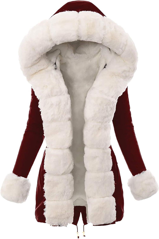 Women Thick Coat Winter Hooded Windbreaker Over Down Warm New sales Trust Jacket