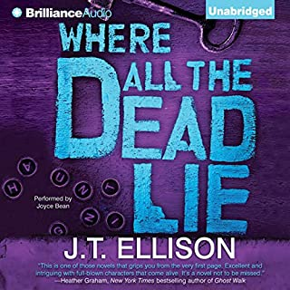 Where All the Dead Lie audiobook cover art