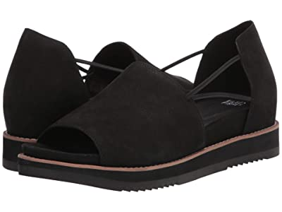 Eileen Fisher Ken (Black Nubuck) Women
