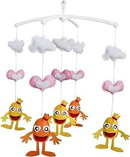 Cloche de lit Cadeaux faits à la main Mobile bébé berceau jouet coloré Jouet à suspendre J01