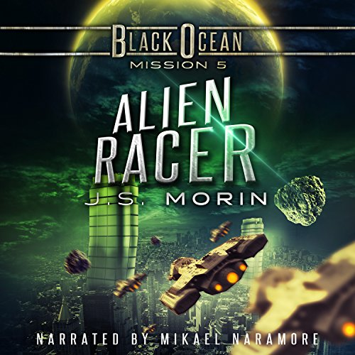 Alien Racer audiobook cover art