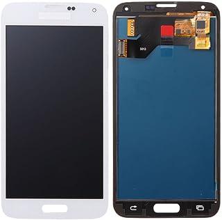 VANKER Pantalla LCD Pantalla táctil Asamblea digitalizador (For Samsung Galaxy S5 i9600 G900 G900A G900F G900P G900V G900T G900H Series)_Galaxy S5 Blanco