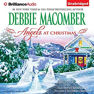 Angels at Christmas audiobook cover art