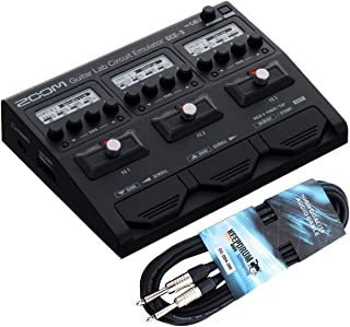 Zoom GCE-3 - Interfaz de audio USB con efectos y cable jack keepdrum (3 m)