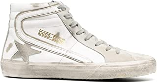 Golden Goose Luxury Fashion Uomo GMF00115F00032410276 Grigio Pelle Hi Top Sneakers | Ss21