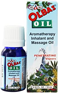 Olbas Therapeutic, Aromatherapy Inhalant and Massage Oil, 0.32 fl ounces. Pack of 1