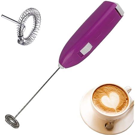 Espumador de leche port/átil de mano para huevo para caf/é espumador de leche