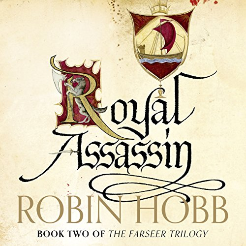 Royal Assassin audiobook cover art