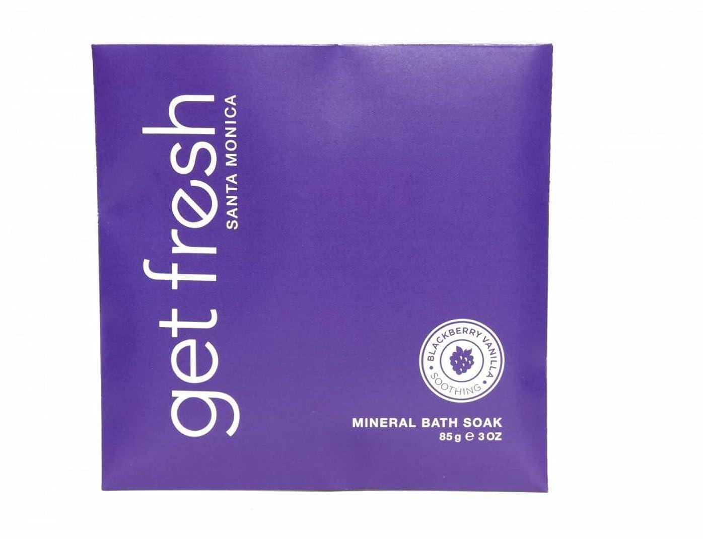 打ち上げる思われる仮定Get Fresh - Blackberry Vanilla Mineral Bath Soak