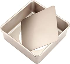 square baking pan with removable bottom