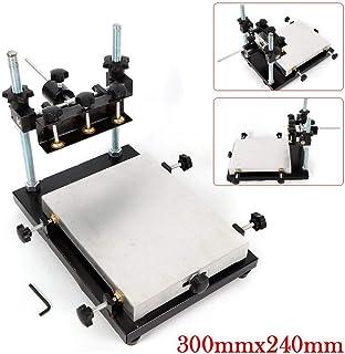 3024 Impresora de Plantilla Manual PCB SMT Máquina de Impresión de Pasta de Soldadura 300 x