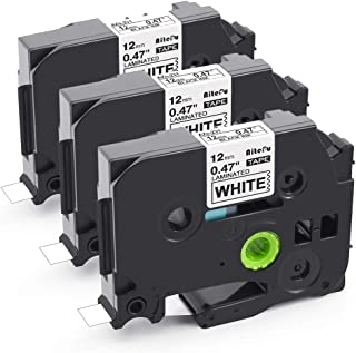 互換 12mm 白 ブラザー ピータッチ テープ Brother ブラザー工業 tzeテープ TZe-231 3点セット P-Touch キューブ ラミネートテープ ラベルライター テープ 長さ8メートル