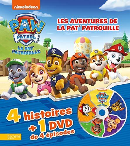 Les aventures de la Pat' Patrouille - Livre DVD n°3